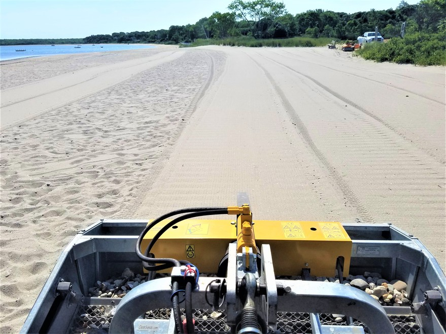 Beach Cleaner, Beach Cleaning Equipment, Beach cleaning