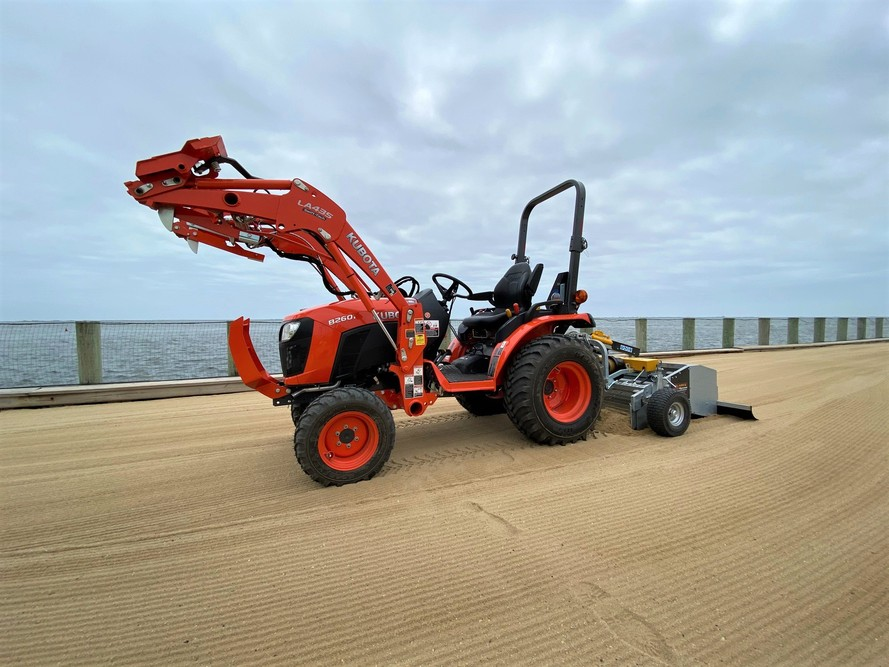 Beach Cleaning Machine, Beach Cleaning Equipment, Beach Cleaner, Beach Cleaning
